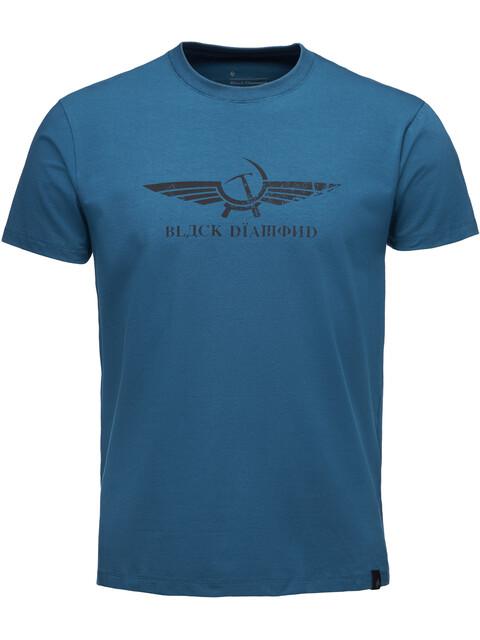 Black Diamond Perestroika - T-shirt manches courtes Homme - bleu